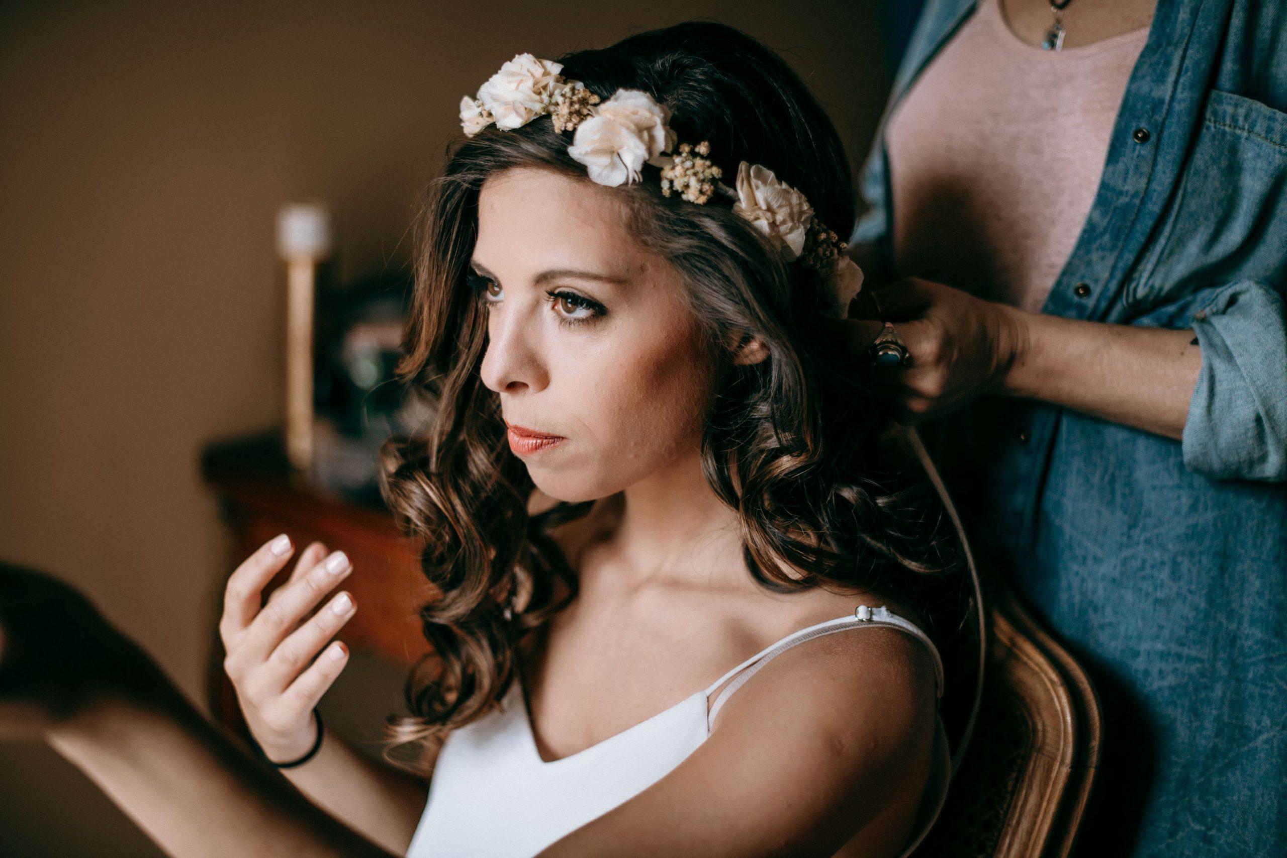 Mariée maquillage, photographe mariage Paris 16éme