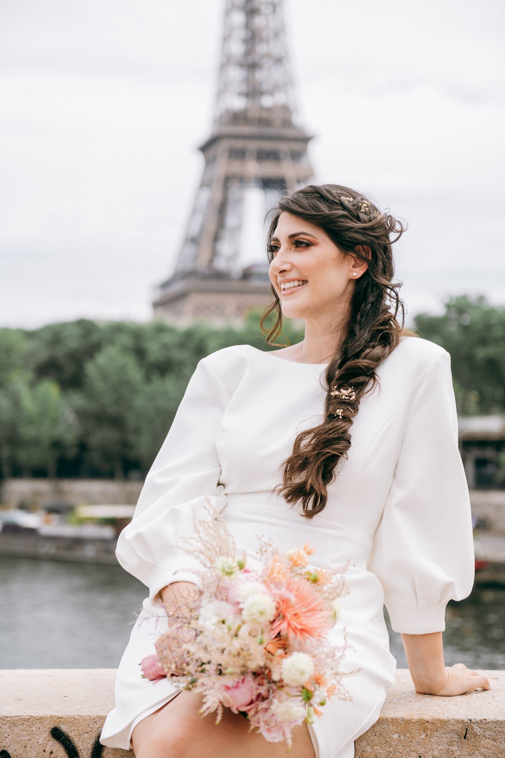 Aurore et Charles-8151Photographe de Mariage buttes chaumont paris Mairie 75019