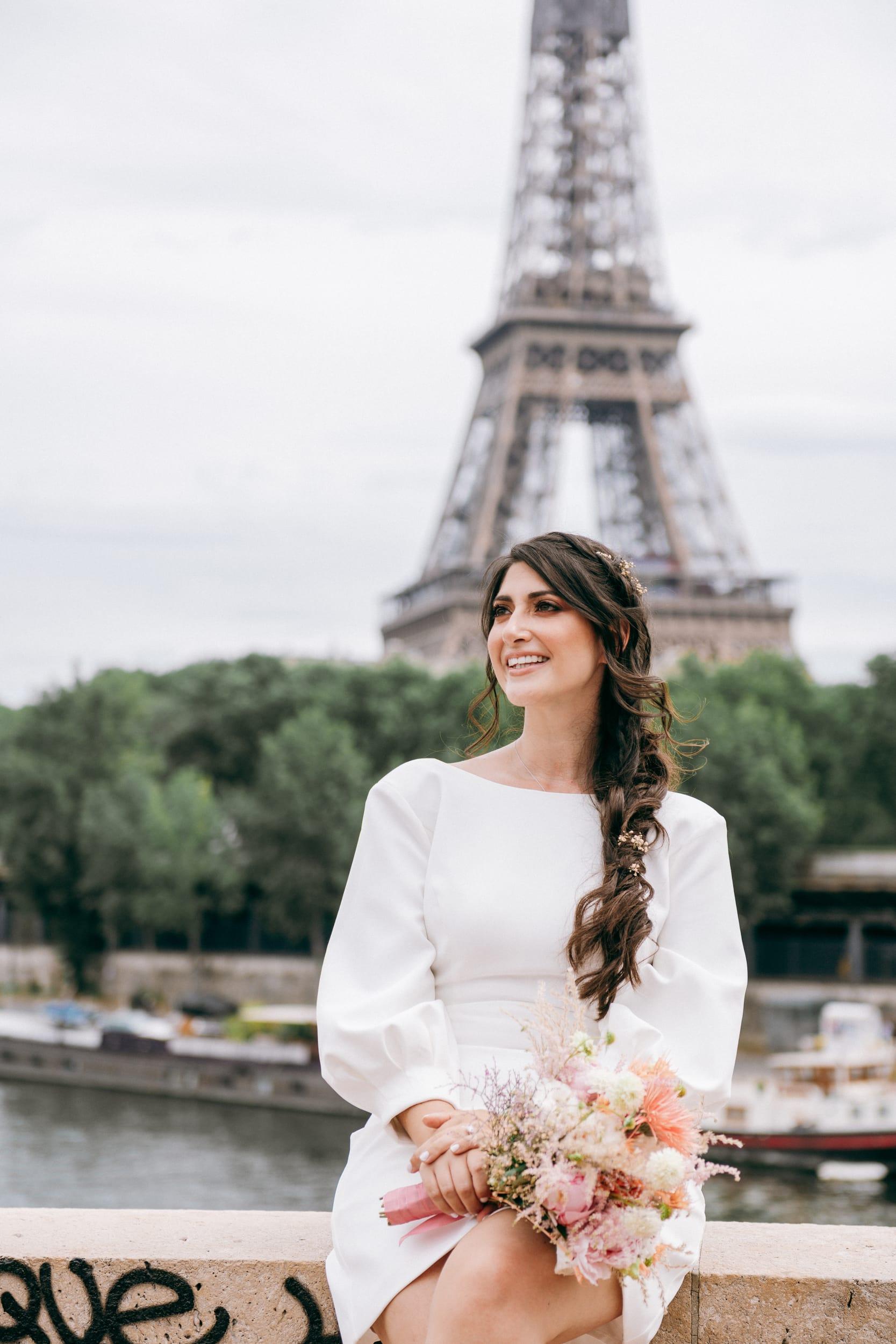 Aurore et Charles-8152Photographe de Mariage buttes chaumont paris Mairie 75019